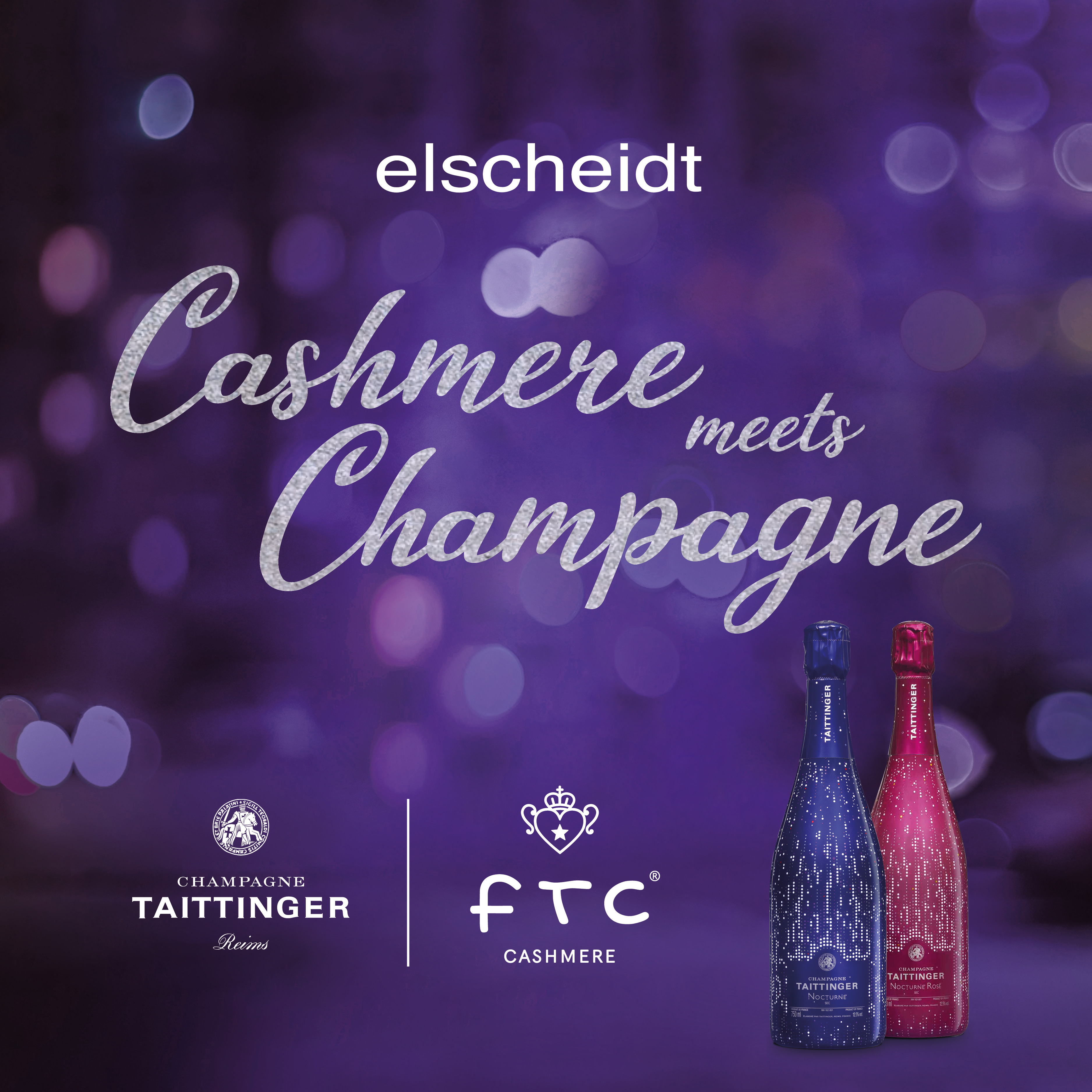Cashmere meets Champagne