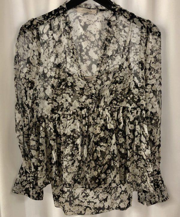 Tunika Dorothee Schumacher Shimmering Flower Blouse