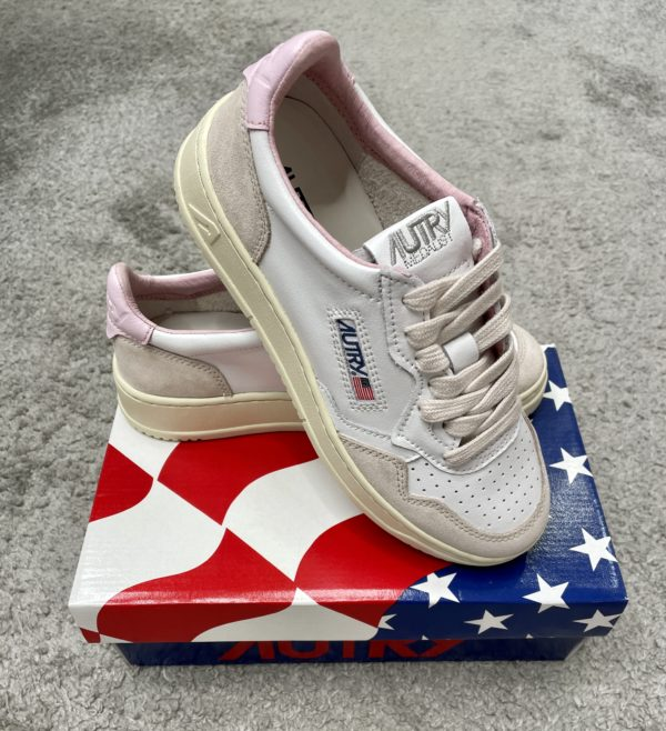 Sneaker Autry weiß/rosa