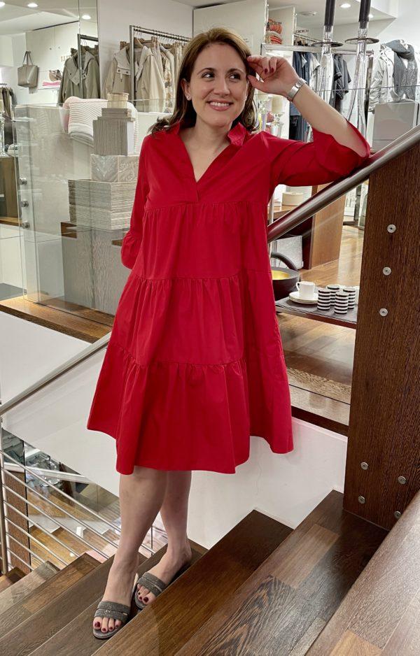 Kleid hip & fresh Pop red