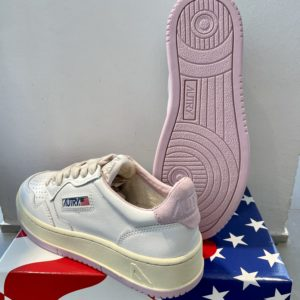 Sneaker Autry weiß/rosa/rosa Sohle