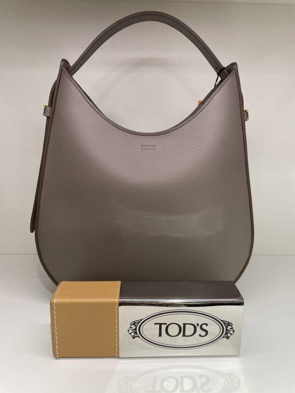 Tasche Tod's Halbmond taupe
